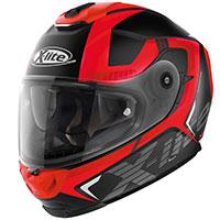 X-lite X-903 Evocator N-com Nero Opaco Rosso