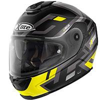 X-lite X-903 Impetus N-com Nero Opaco Giallo