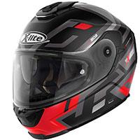 X-lite X-903 Impetus N-com Nero Opaco Rosso