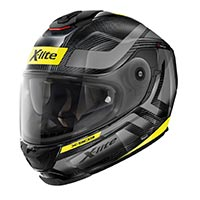X-lite X-903 Ultra Carbon Airborne N-com Full Face Helmet Black Yellow