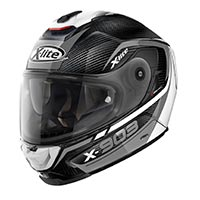 X-lite X-903 Ultra Carbon Cavalcade N-com Full Face Helmet Black White Gray