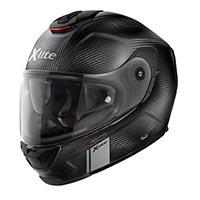 X-lite X-903 Ultra Carbon Modern Class N-com Casque Intégral Microlock Carbone Plat