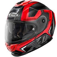 X-lite X-903 Ultra Carbon Evocator N-com Rosso