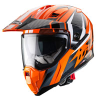 Caberg X-trace Savana Helmet Orange