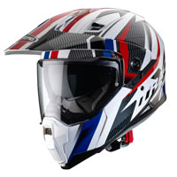 Caberg X-trace Savana Helmet Red Blue