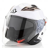 Acerbis Firstway Helmet White