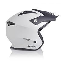 Casco Acerbis Jet Aria Argento Nero