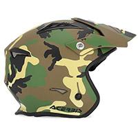 Acerbis Jet Aria Helmet Camo Army