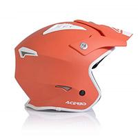 Casco Acerbis Jet Aria Rosso Tangerine