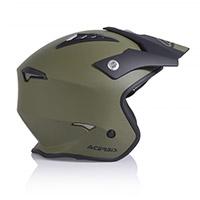 Casco Acerbis Jet Aria Verde Army