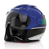 Casco Acerbis X Jet On Bike Blu