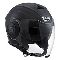 Agv Fluid Mono Matt Black
