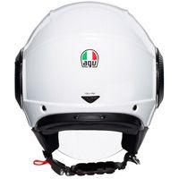 Agv Orbyt Mono Helmet Pearl White