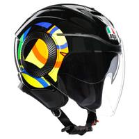 AGV Orbyt サン & ムーン46ヘルメットブラック