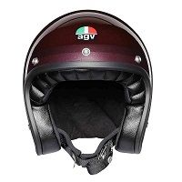 Agv X70 Jet Helmet Purple Red