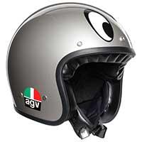 Agv X70 Jet Helmet Montjuic Silver