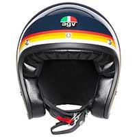 Agv X70 Jet Helmet Riviera Blue Rainbow - 3