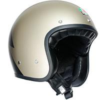Agv X70 Jet Helmet Volt Champagne Black