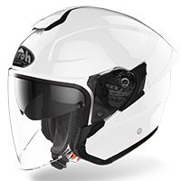 Casco Airoh H 20 Color Bianco Lucido