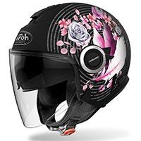Airoh Helios Mad Helmet Pink Red