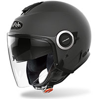 Casco Jet Airoh Helios Color Antracite Opaco