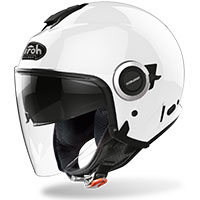 Casco Airoh Helios Color blanco brillo