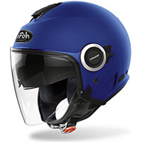 Airoh Helios Jet Helmet Color Blue Matt