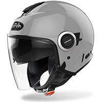 Airoh Helios Jet Helmet Color Concrete Gray