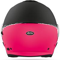 Airoh Helios Jet Helmet Fluo Pink Matt