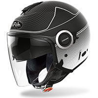Airoh Helios Jet Helmet Map Black Matt
