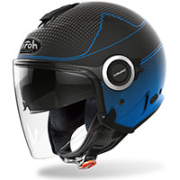 Airoh Helios Jet Helmet Map Blue Matt
