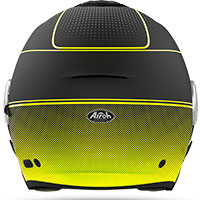 Airoh Helios Jet Helmet Map Yellow Matt