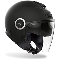 Airoh Helios Jet Helmet Color Black Matt