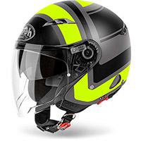 Airoh Urban Jet Helmet Black Yellow