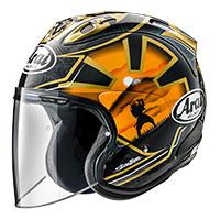 Arai Sz-r Vas Pedrosa Gold Spirit Helmet
