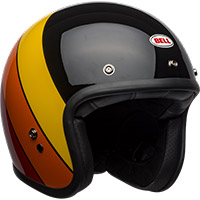 Bell Custom 500 Dlx Rif Helmet Yellow Orange Red