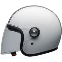 Bell Riot Helmet Rapid White Black