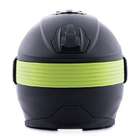 Blauer Hacker Helmet Black Yellow