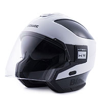 Blauer Solo Helmet White Carbon Black Glossy