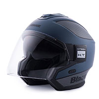 Blauer Solo Helmet Blue Carbon Black Matt