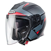 Caberg Flyon Rio Helmet Black Red Anthracite