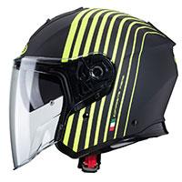 Caberg Flyon Bakari Helmet Black Fluo Yellow