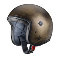 Open Face Helmet Caberg Freeride Bronze Brushed