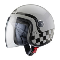Open Face Helmet Caberg Freeride Formula Grey - 3