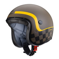 Open Face Helmet Caberg Freeride Formula Brown