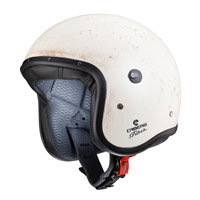 Open Face Helmet Caberg Freeride Old White