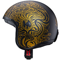 Caberg Freeride Maori Helmet Matt Black Gold