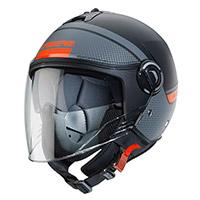 Casco Caberg Riviera V4 Elite negro naranja