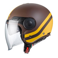 Open Face Helmet Caberg Uptown Chrono Matt Brown