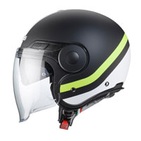 Open Face Helmet Caberg Uptown Chrono Matt Black